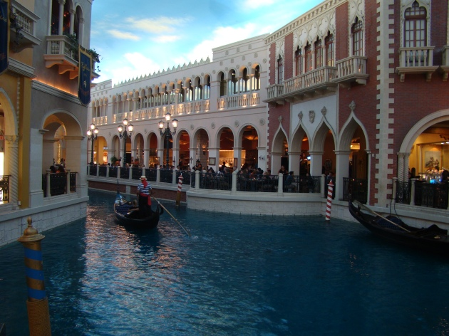 The Grand Canal in The Venetian