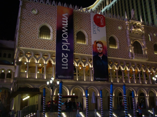 VMworld 2011 at The Venetian hotel in Las Vegas