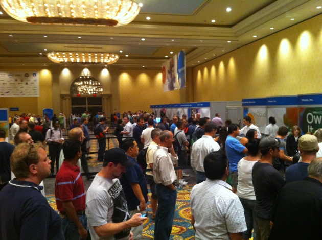Registration for VMworld 2011