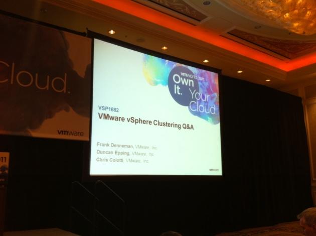 VSP1682 VMware vSphere Clustering Q&A
