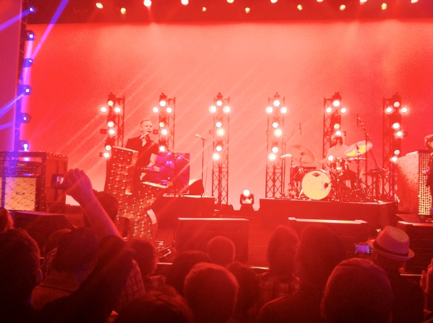 The Killers performing at th VMworld Party