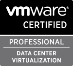 VMware Certified Professional - Data Center Virtualization logo