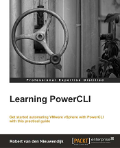 Learning PowerCLI Book Cover