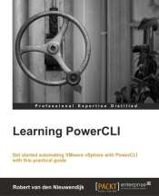 """Learning PowerCLI"" book cover"