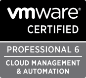 VMware Certified Professional 6 – Cloud Management and Automation