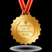 Top 50 PowerShell Blog