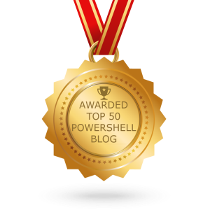 Top 50 PowerShell Blog